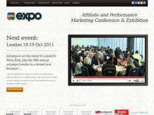 A4U Expo website