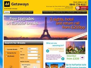 Great getaways website