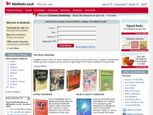 Abe Books website