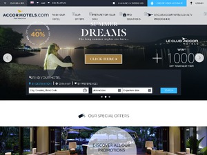 Accorhotels website