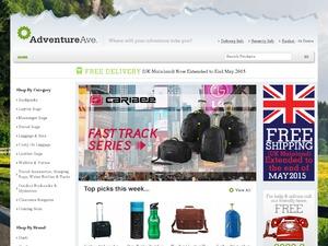 Adventure Avenue website