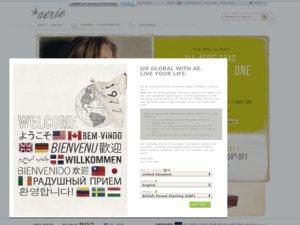 Aerie website