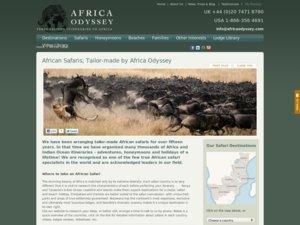 African Safari Club website