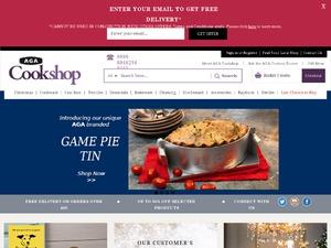 Aga Cookshop website