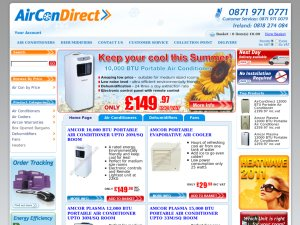 Aircondirect website