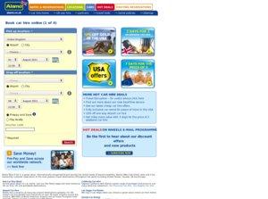 Alamo website