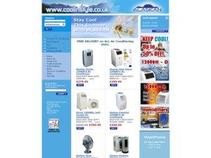 Alaskan Air Conditioners website