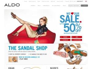 Aldo website