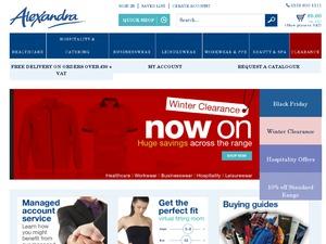 Alexandra website
