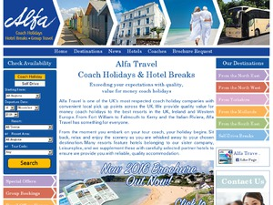 Alfa Travel Ltd website