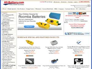 All-Battery.com website