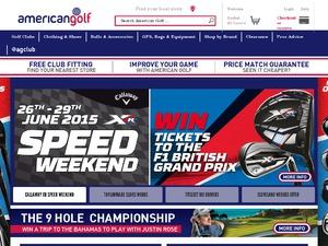 American Golf website