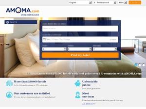 Amoma website