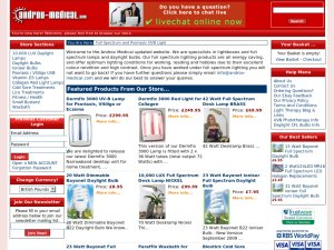 Androv medical website
