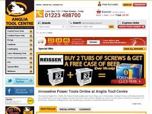 Anglia Tool Centre website