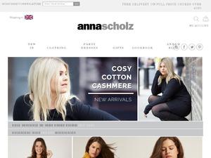 Anna Scholz website
