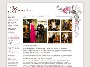 Anusha website