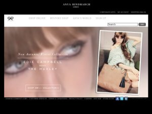 Anya Hindmarch website