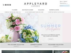 Appleyardlondon website