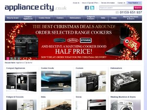 Appliance City website