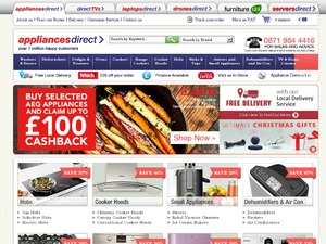Appliances Direct website