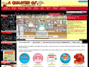 A Quarter Of website