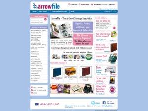 Arrowfile website