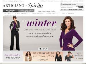 Artigiano website