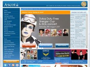 Ascot website