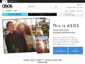 ASOS website
