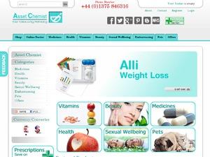 Asset Chemist website