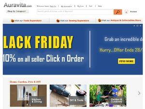 Auravita website