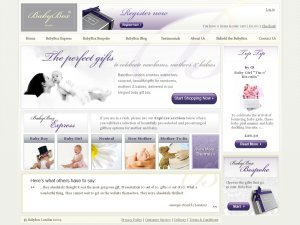 BabyBox London website