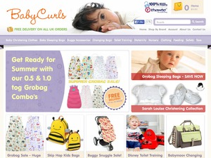 Baby Curls website