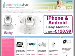 Baby Monitors Direct website