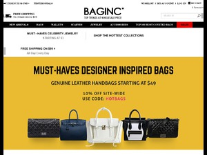 BagInc website