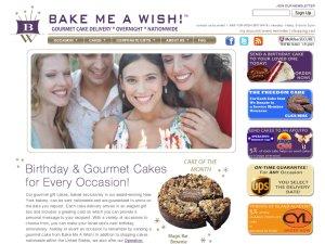 Bake Me Wish website