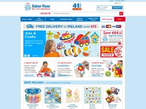Baker Ross website