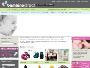 Bambino Direct website