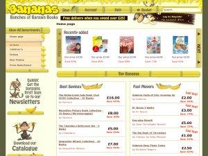 Bananas Books website