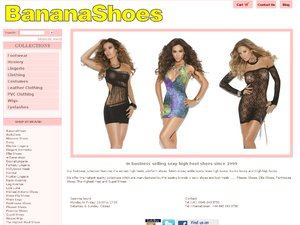 BananaShoes Limited website