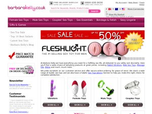 SEXTOYSHQ website