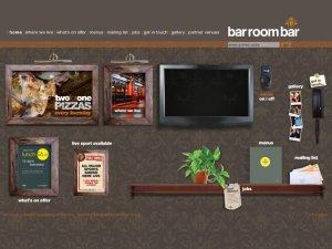 bar room bar website