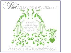 BD Wedding Favors website