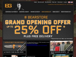 Bear Grylls website
