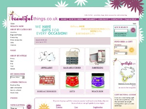 Beautiful Things website
