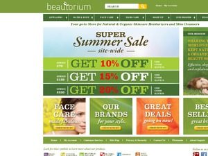 Beautorium website