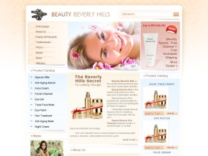 Beauty Beverly Hills website