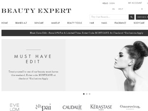 Beauty Expert website