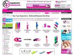 Bedroom Pleasures website